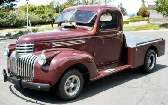 Photo of 1946 Chevy Custom Flatbed Truck