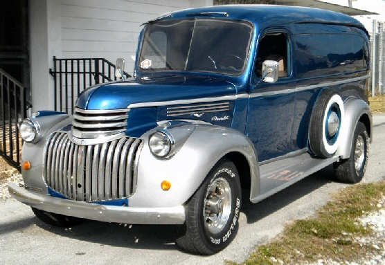 PHoto of 1946 Chevrolet Panel Truck  Street Rod