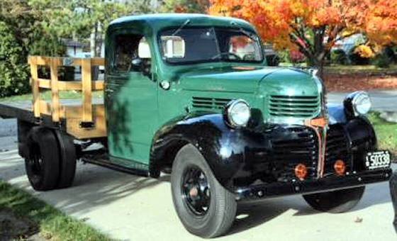 Photo of  1946 Dodge D5 Stake Body Truck Mint Condition