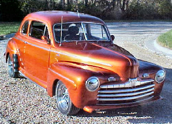 1946 Ford Club Coupe Super Deluxe