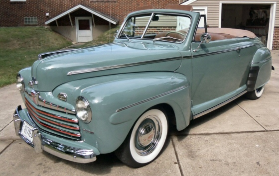 1946 ford convertible resto rod. Black Bedroom Furniture Sets. Home Design Ideas