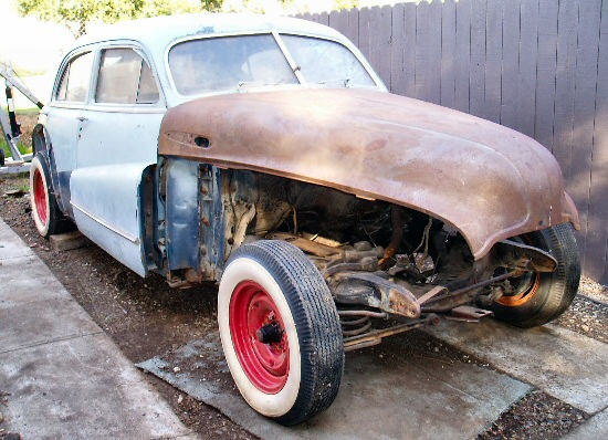 1947 Buick Super 50 Project