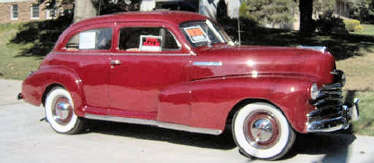 1947 Chevy 2-dr Sedan Deluxe