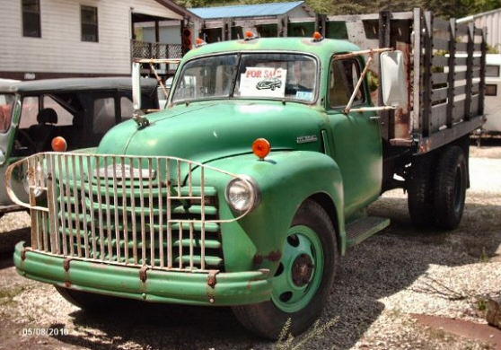 1947 CHEVY 1 1/2 TON FLATBED TRUCK