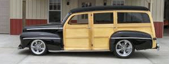 Photo of 1947 Ford Woodie Wagon Street  Rod