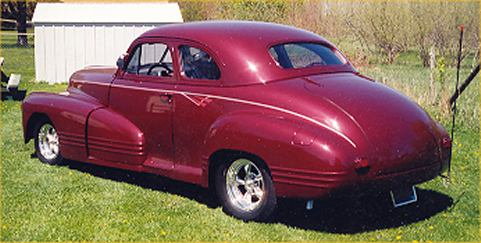 1947 Pontiac Coupe Street Rod