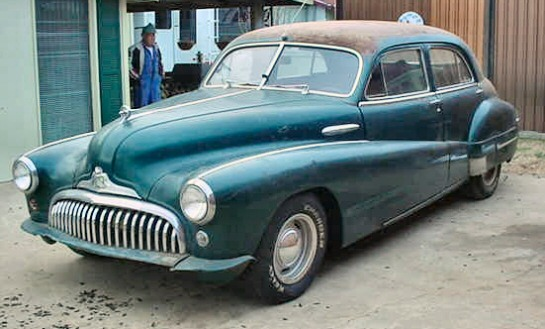 1948 Buick street rod project