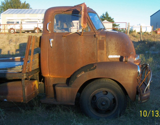 1948 Chevy Cab Over Truck