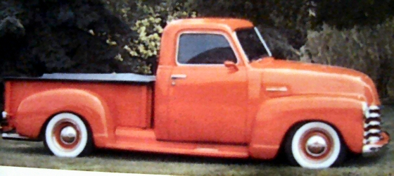 Photo of 1948 Chevy Pickup Street Rod Show Winner