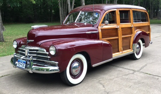Photo of 1948 CHEVROLET 8 PASSENGER  WOODIE STATION WAGON