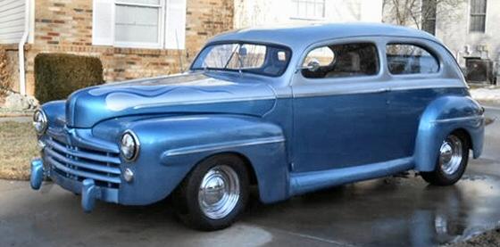 1948 ford 2 door sedan street rod for 1948 ford 2 door coupe