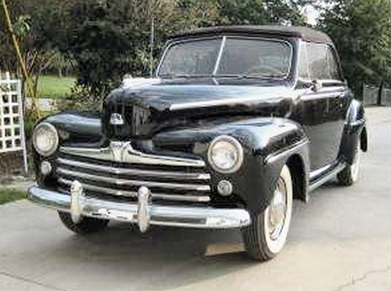 Photo of 1948 ford Convertible