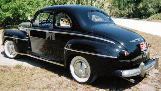 1948 Ford 2dr Coupe Rod Steel