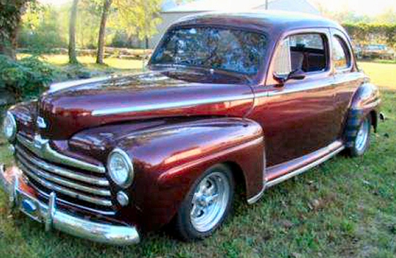 Photo of 1948 Ford Coupe Steel Street Rod