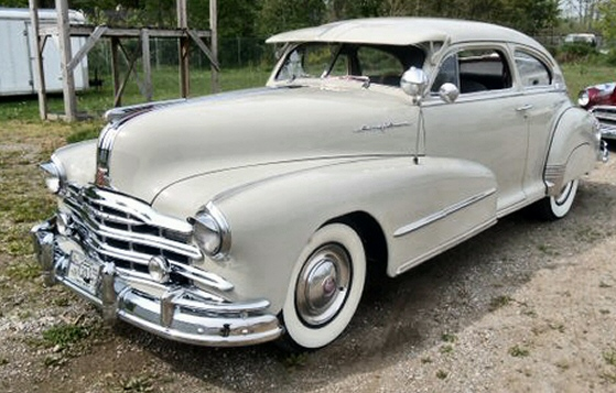 Photo of 1948 Pontiac Streamliner 2 DR Sedan Sedanette
