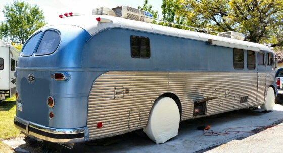 Photo of 1949 Brill American Trailway Conversion Bus