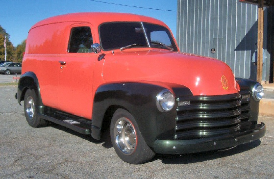 1949 Chevy Panel Van