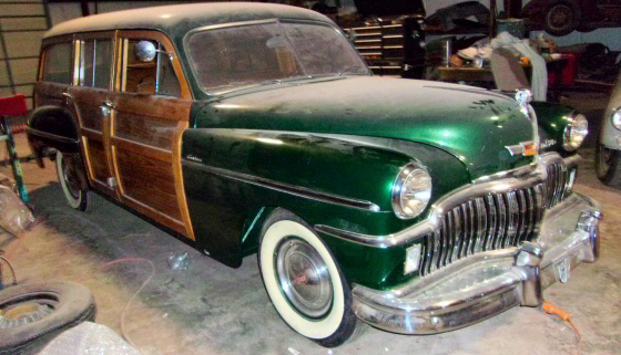 Photo of  1949 DeSoto Woodie Wagon Completely Restored