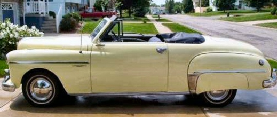 1949 DODGE WAYFARER ROADSTER CONVERTIBLE