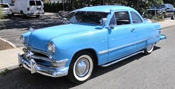 Photo of 1949 FORD COUPE WITH CONTINENTAL KIT & 1949 FORD COUPE WITH CONTINENTAL KIT markmcfarlin.com