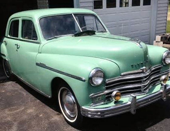 1949 plymouth special deluxe 4dr sedan with 32 000 for 1949 plymouth 4 door sedan