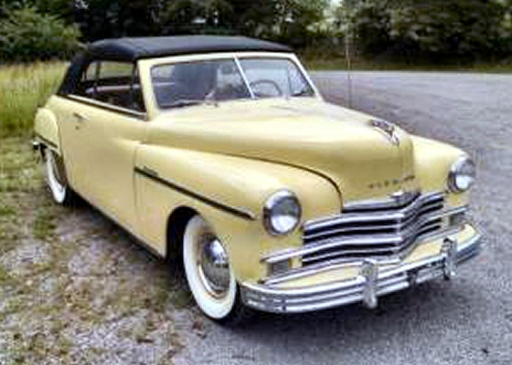photo of 1949 plymouth special deluxe convertible. Black Bedroom Furniture Sets. Home Design Ideas