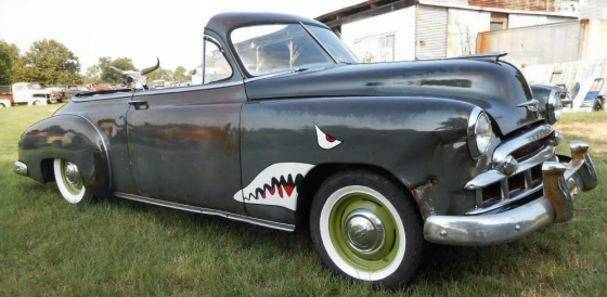 Photo of 1950 Chevrolet Bel Air All Steel Chop Top Convertible Rat Rod