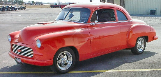 1950 chevrolet club coupe street-rod