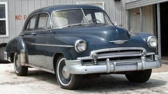 Photo of 1950 Chevrolet Deluxe 4 DR Sedan