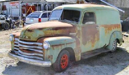 1950 Chevrolet - Panel Truck