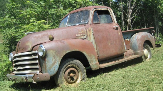 Photo Of 1950 Chevy Pickup Truck