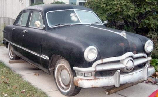 1950 ford custom sedan 4 door