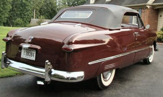 Photo of 1950 Ford Convertible