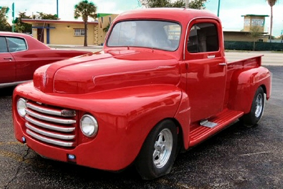 1950 ford pick up truck custom street rod. Black Bedroom Furniture Sets. Home Design Ideas