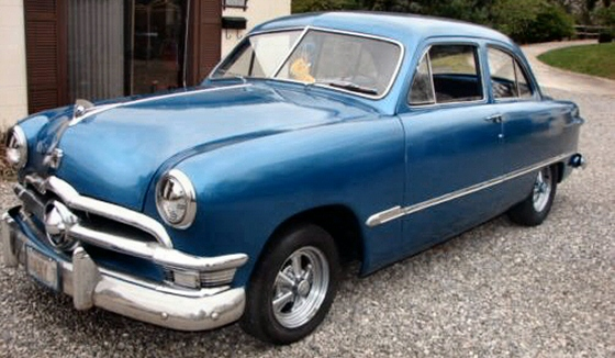 1950 ford custom 2 door sedan for 1950 ford custom 4 door