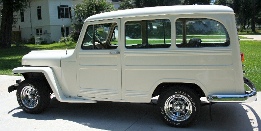 1950 Jeep Panel Wagon Photo