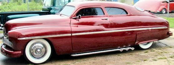 1950  MERCURY LEADSLED