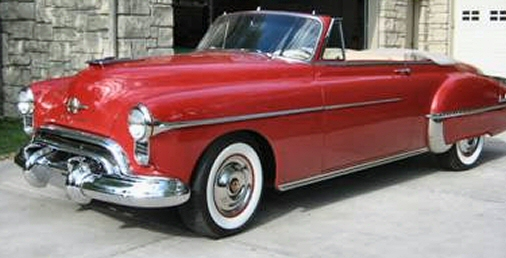 1950 Oldsmobile Model 88 Convertible Street Rod