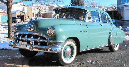 1950 Pontiac SilverStreak Fleetleader Deluxe