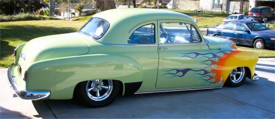 1951 chevy custom time bandit for Smith motor cars charleston wv