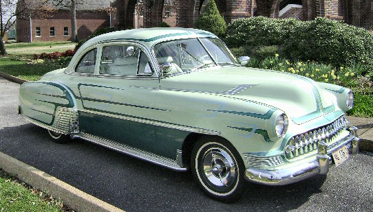 1951 Chevy Business Coupe Custom