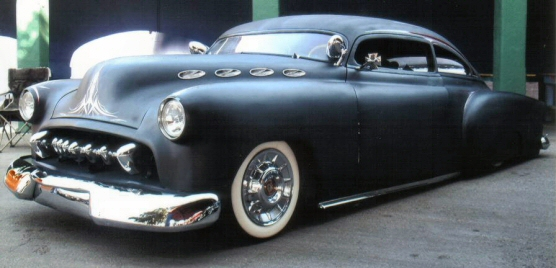 1951 Chevy Fleetline Kustom Leadsled