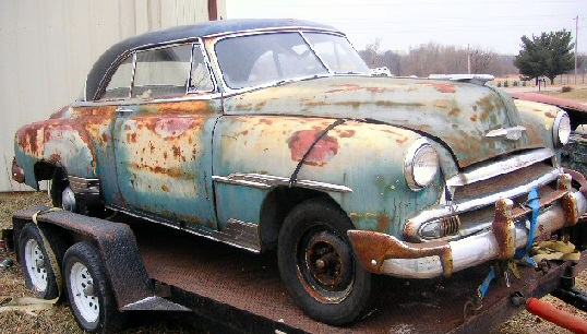 1951 CHEVROLET DELUXE 2DR HT