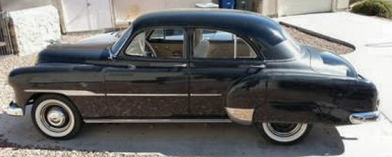 Photo of 1951 Chevy Styleline Deluxe 4 Door Sedan