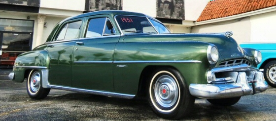 1951 Dodge Coronet 4 Door Sedan Low Mileage Original