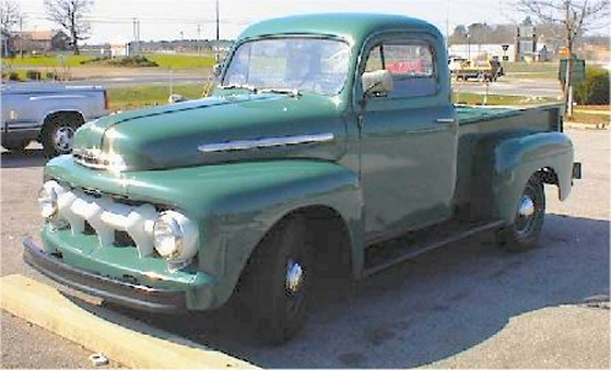 1951 Ford Pickup 100