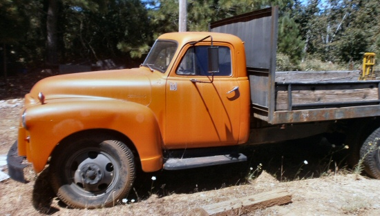 1951 1 1 2 ton gmc dump truck for sale
