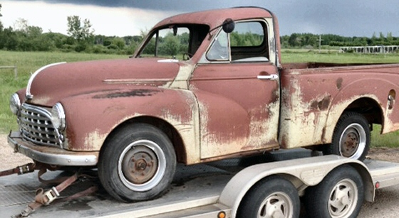 Photo of 1951 Morris Cowley Pickup Truck  Project