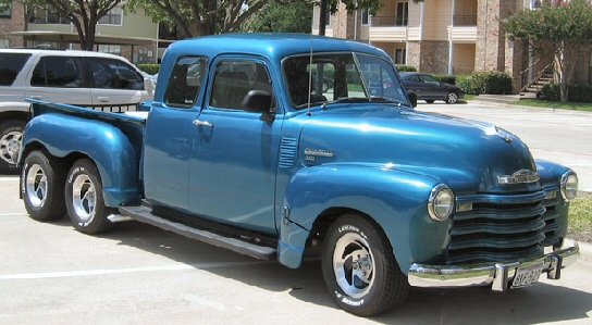 1952 Chevrolet 3100 custom pickup