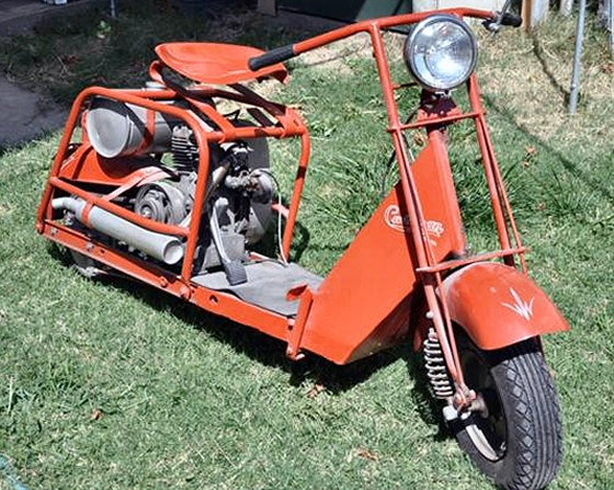 Old Cushman Motor Scooters For Sale Motorcycle Review